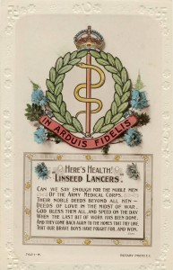 Royal Army Medical Corps, Linseed Lancers, Insignia