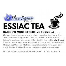 Essiac Tea - 1lb bag - 2 month supply