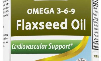 omega-3-6-9 flaxseed oil
