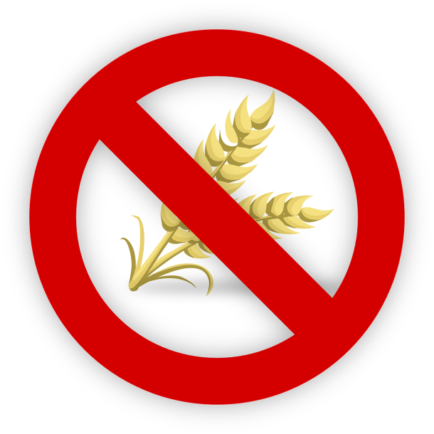 Gluten free symbol for safe gluten free travel