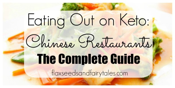 This easy guide shows you how to enjoy keto friendly Chinese food at restaurants
