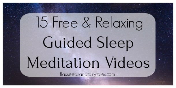 Relaxing guided sleep meditations for insomnia, stress, and other sleep issues