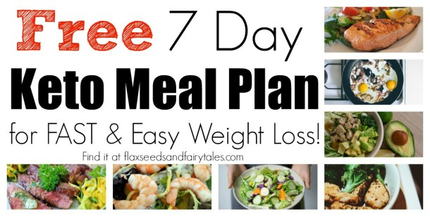 Free One Week Keto Meal Plan For Beginners An Easy Weight Loss Plan