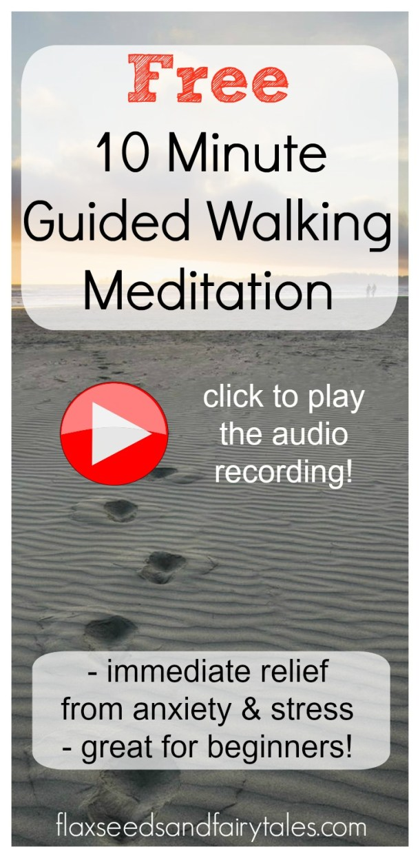 Walking meditation is the best! It's so beautiful & relaxing. I do this guided walking meditation everyday in nature for mindfulness and health. Great guided meditation article for beginners. #walkingmeditation #guidedmeditation #meditationforbeginners #mindfulness #zen