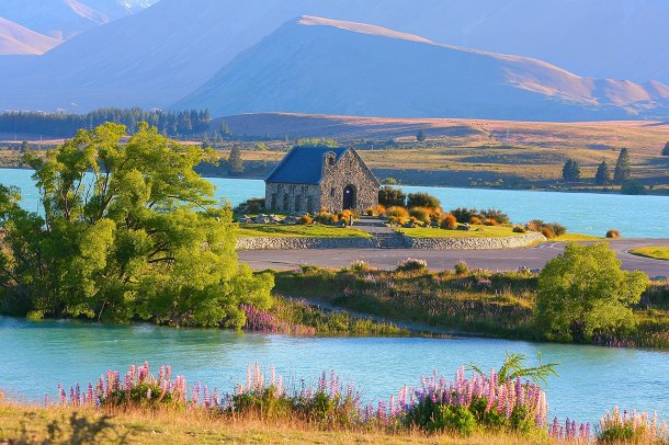 Lake Tekapo in New Zealand is one of the top 15 beautiful places in the world you have to visit