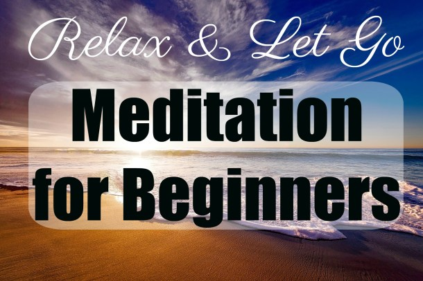 Relax and let go with the Guided Meditation for Beginners and calming beach image