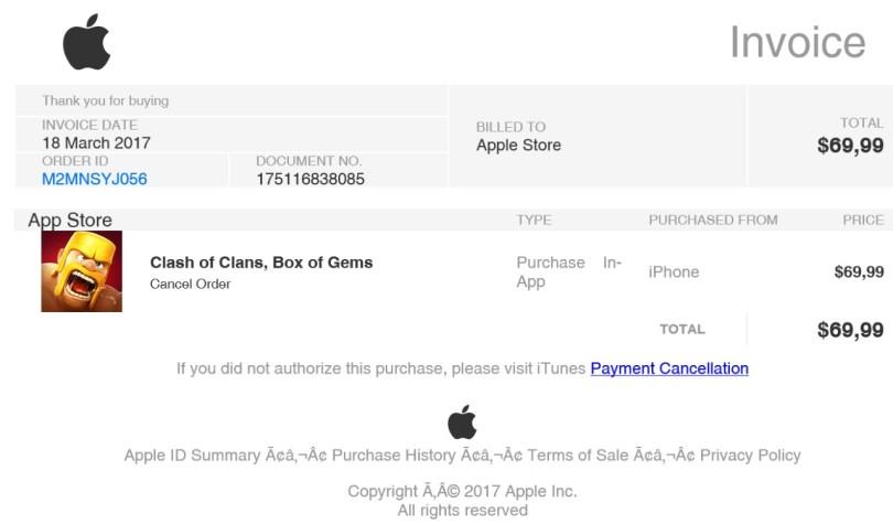 Apple偽メール