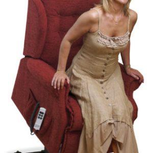 Lynton Small Fabric 'Lift & Rise' Recliner
