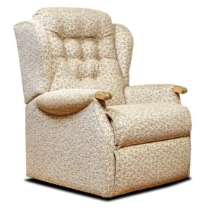 Lynton Knuckle Standard Fabric Fixed Chair