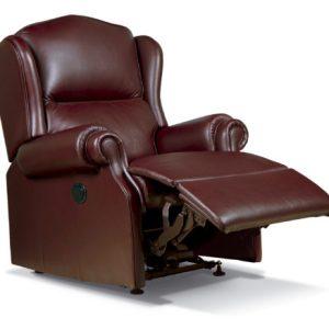 Claremont Standard Leather Recliner