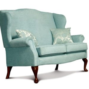 Kensington Standard Fabric Fireside 2-Seater Settee