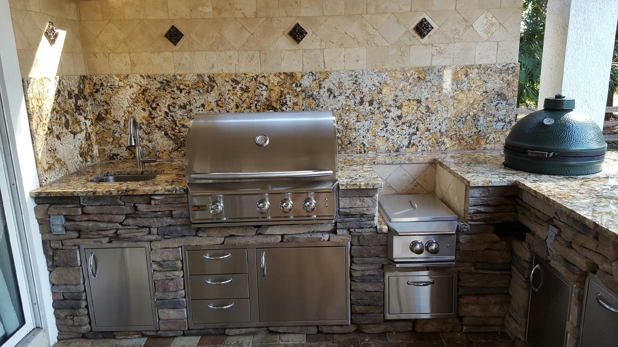 Creative Outdoor Kitchens Of Florida Big Green Egg Creative Outdoor Kitchens Of Florida