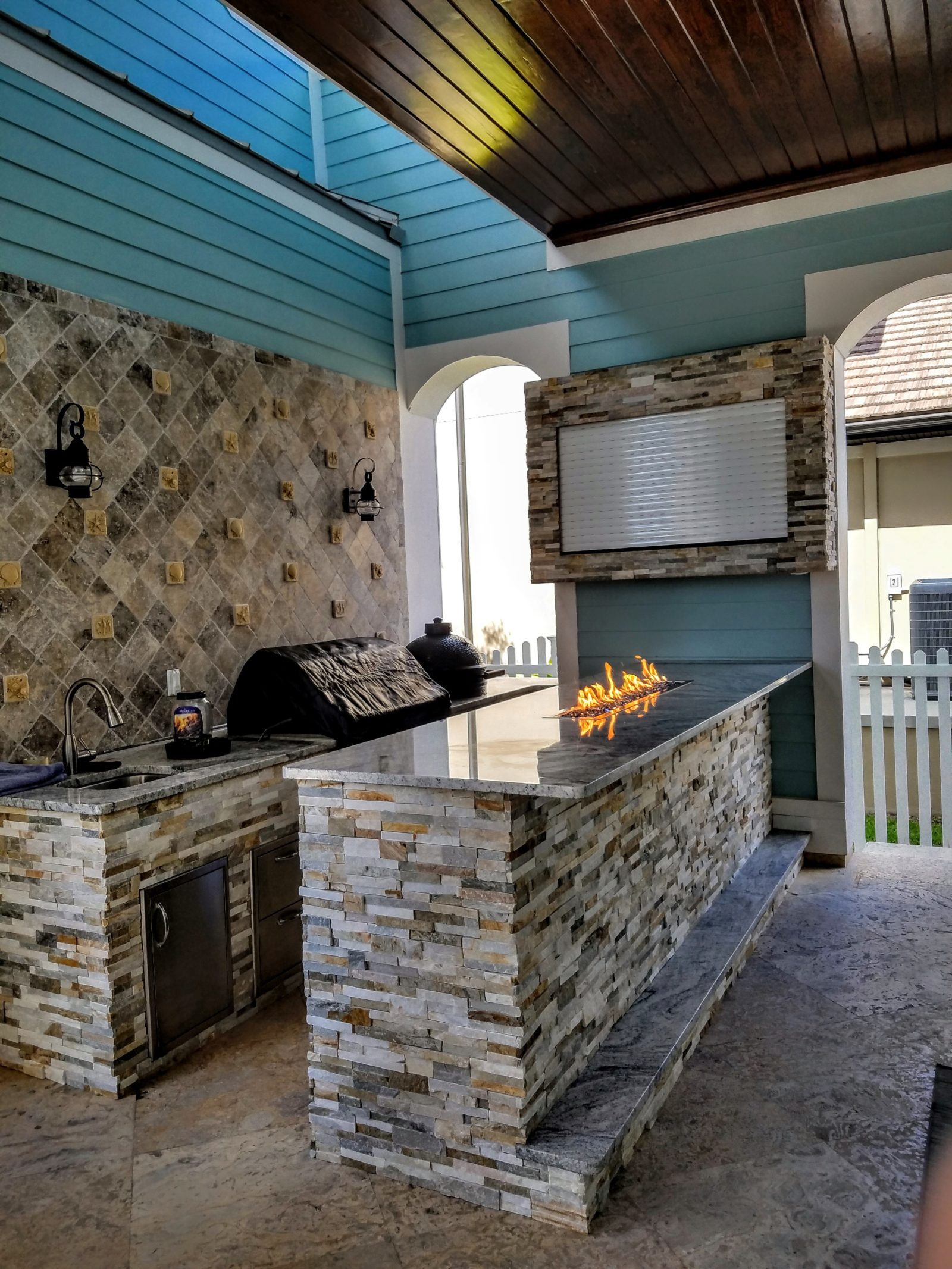Creative Outdoor Kitchens Stone Creative Outdoor Kitchens