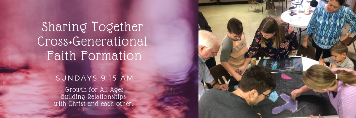 """Sharing Life Together"" – New Faith Growth Ministry"