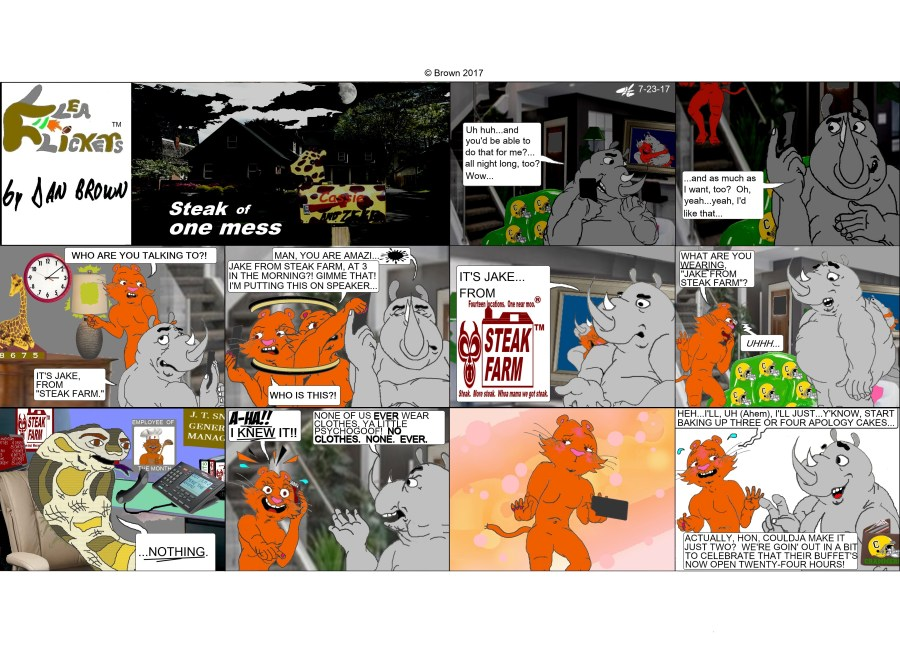 chronological strip 140, Sunday strip 14
