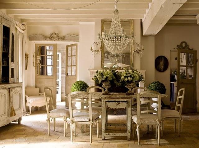 Shabby Chic French Vintage Interior Design
