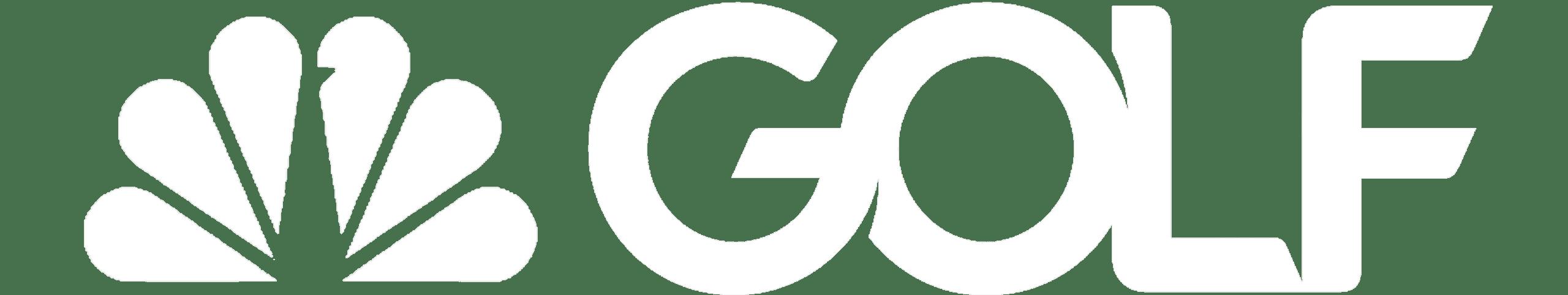 White Golf PNG Logo