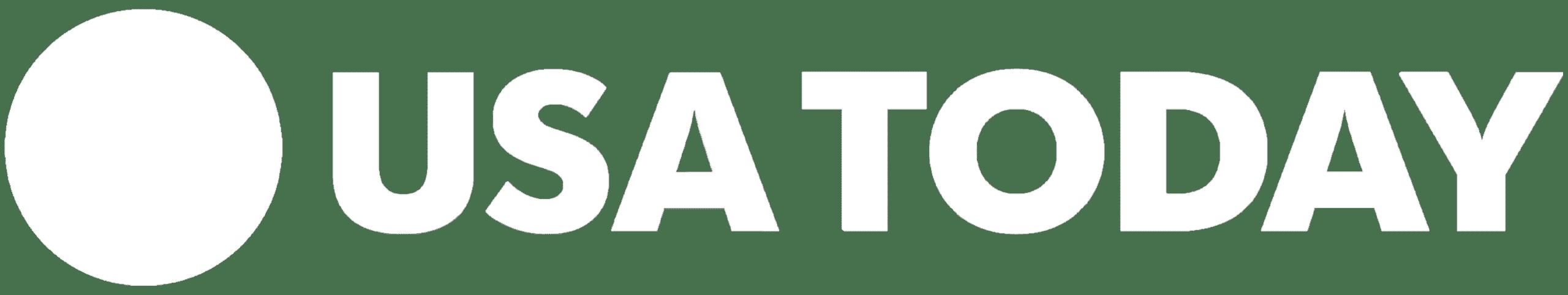 White USA Today PNG Logo