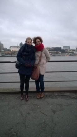 Durchgefroren in Hamburg