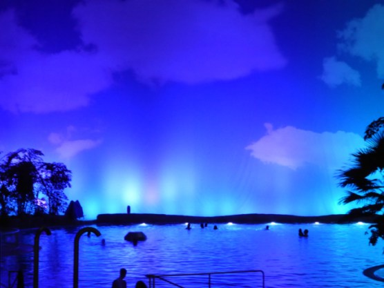 Südsee bei NachtTropical Island