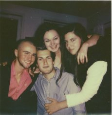 Erik, Niclas, meg og Linn