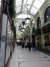 Arcade where the shop lies