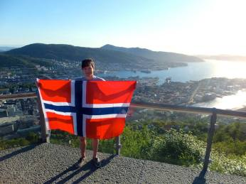 Norwegian flag!