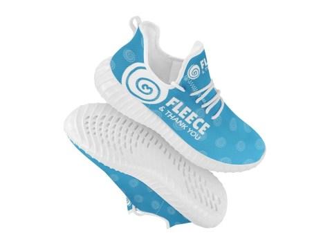 FTY Blue Shoes w/ Big Logo