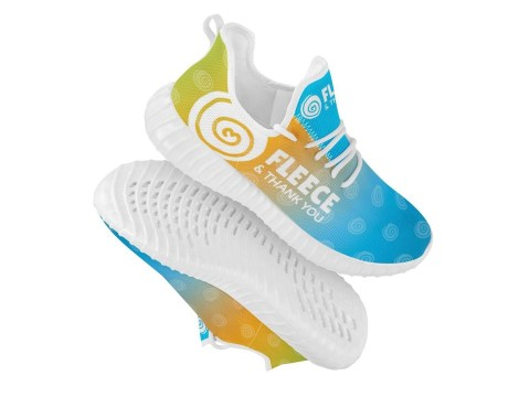 FTY Multicolored Shoes w/Big Logo