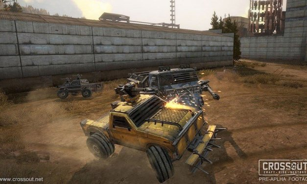 War Thunder Devs Announce Post-Apocalyptic Vehicle Combat MMO Crossout