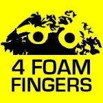 4 Foam Fingers – Catherine Hicks