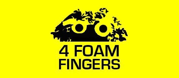 4 Foam Fingers – Michael Rogers