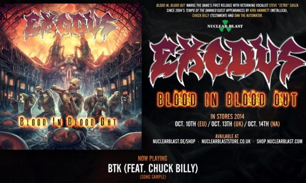 Exodus Official Album Teaser For 'Blood In, Blood Out'