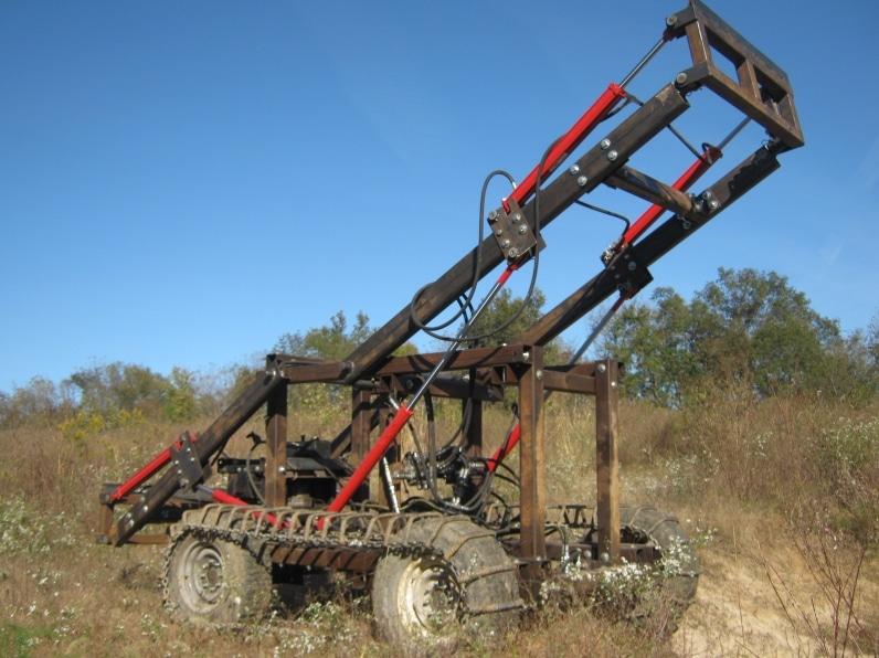 Maschine aus dem Open Source Ecology Construction Set