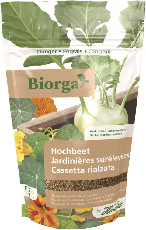 Biorga Hochbeetdünger 200g