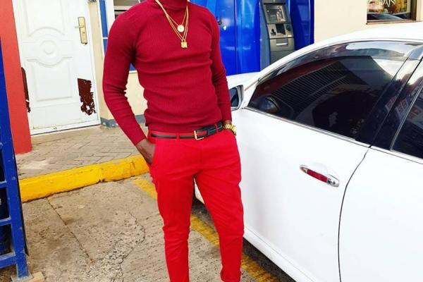 Willy Paul Steps Out in Red