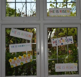 'He is Risen' Window 3