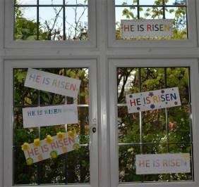 'He is Risen' Window 3