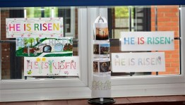 'He is Risen' Easter Messages