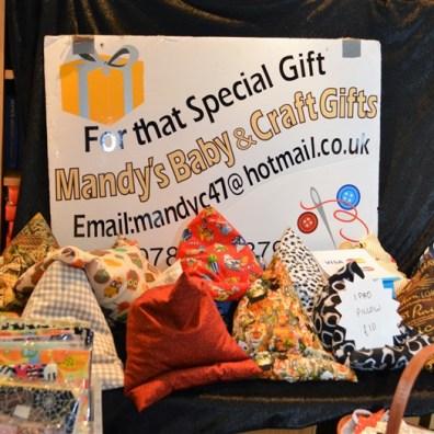 Mandy Bateman: Mandy's Baby & Craft Gifts (tel: 07825768797; e: Mandyc47@hotmail.co.uk)