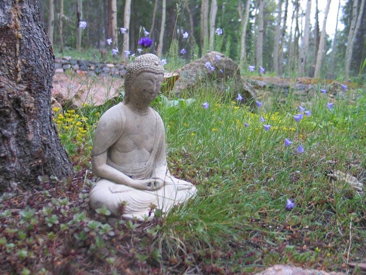 BuddhaInTheGarden
