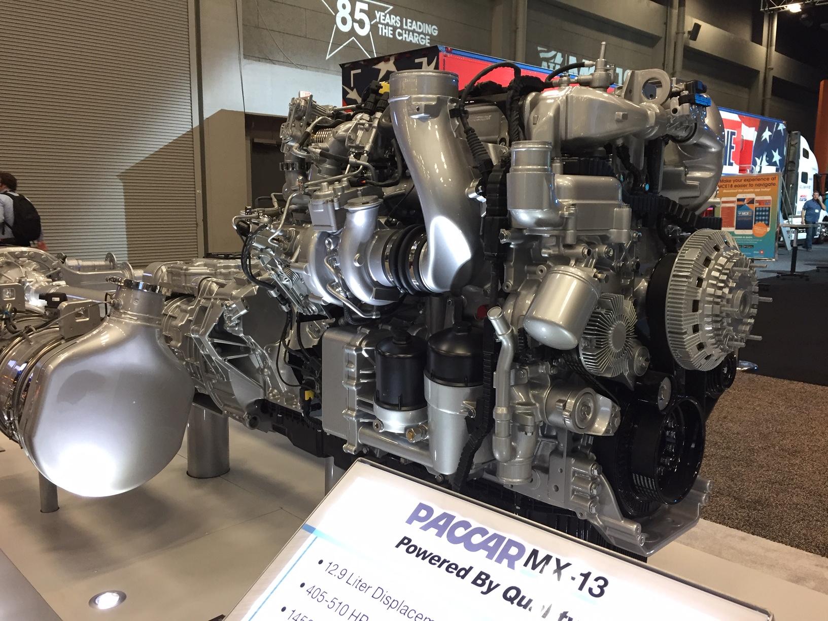 Peterbilt Details Mx 13 Engine Option Upgrades