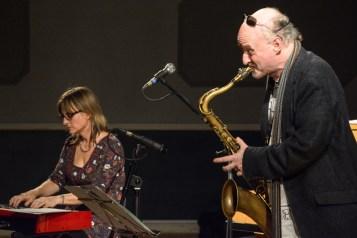Andrea Vicari & Mornington Lockett performing at Fleet Jazz (Nov 16). Image courtesy of David Fisher (Aldershot, Farnham & Fleet Camera Club).
