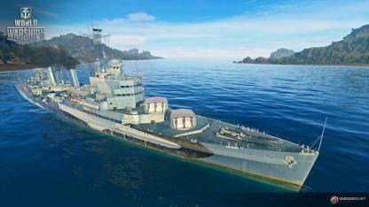 Tier 7 British cruiser Belfast
