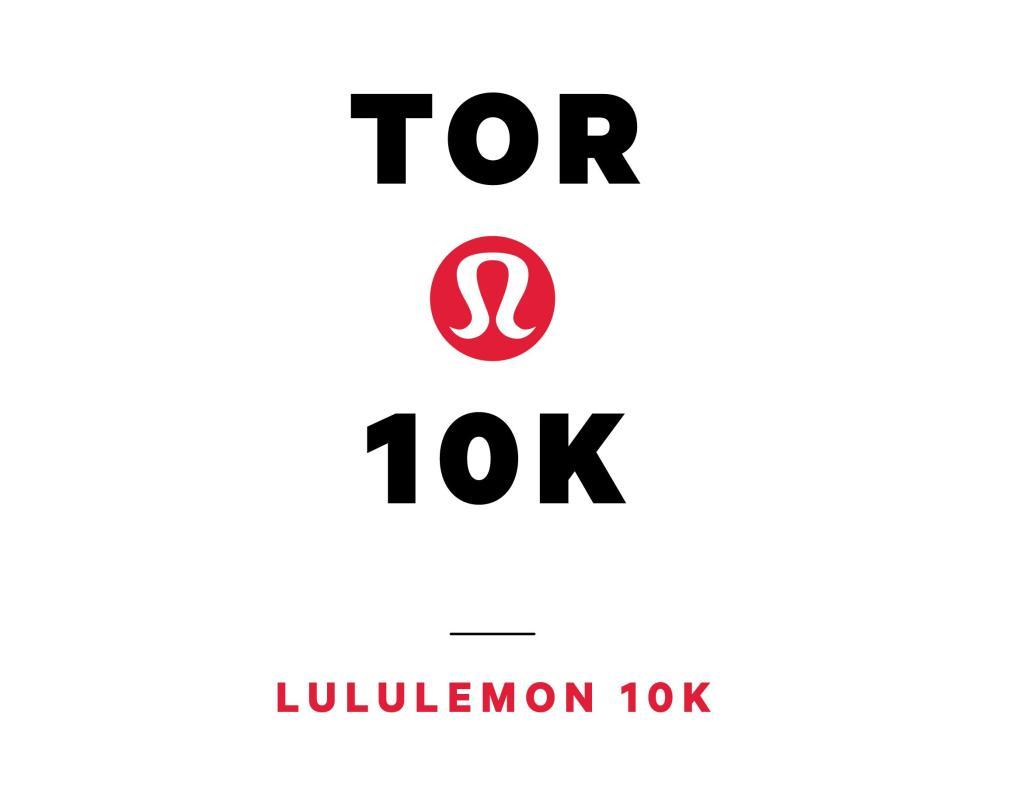 Lululemon Toronto 10K