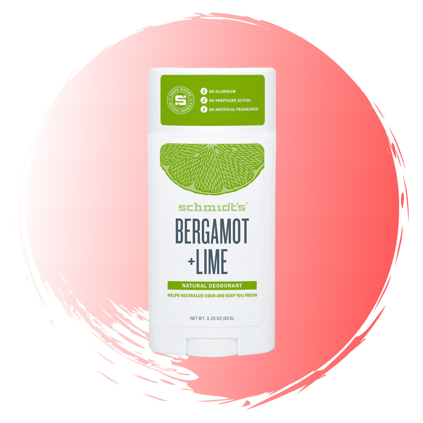 Schmidt's Bergamot & Lime Natural Deodorant, $16