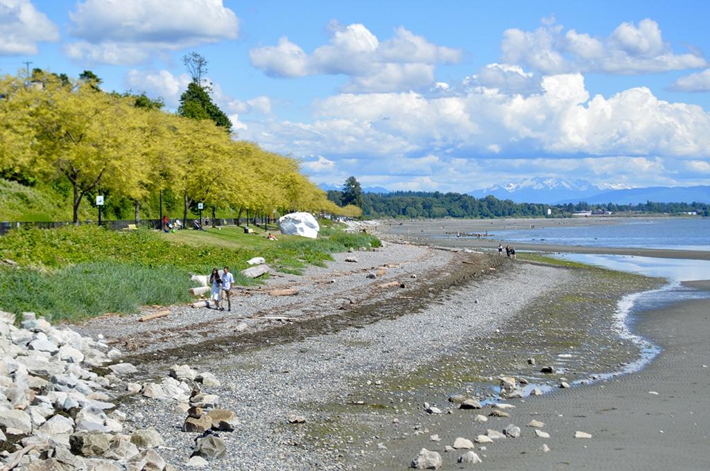 Crescent Beach in White Rock