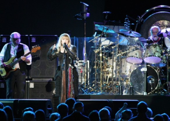 Fleetwood Mac rocking the Sheffield Arena