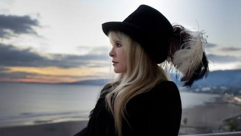 """Steve Nicks discusses how her solo career helps keep Fleetwood Mac stable, and why she can no longer write """"sex, rock & roll and drugs"""" songs. Kristin Burns"""