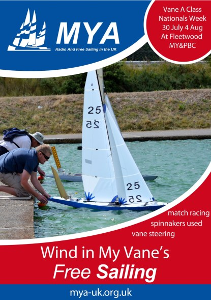 MYA Flyer Dinghy Club Poster 2017